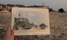 La plage de Koralam