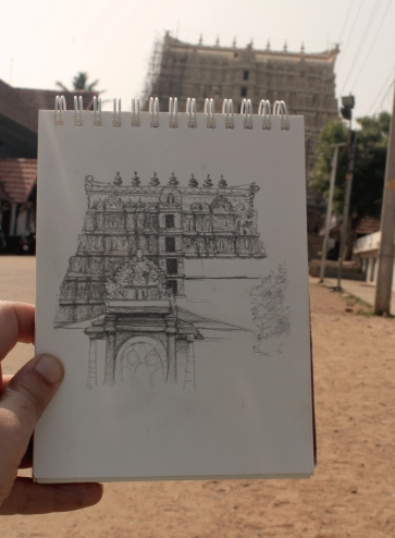 Temple de Sree Padmanabhaswamy