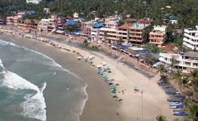 la plage de Kovalam