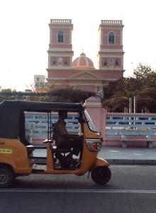Dans les rues de Pondichéry