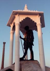 Statue de Ghandi - Pondichéry