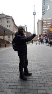 Hilal et la Tour de Toronto