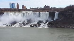 Chute du Niagara coté américain