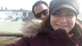 Chute du Niagara coté Americain