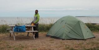 Camping à Longue Pointe Mingan