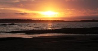 levé du soleil - Aguanish