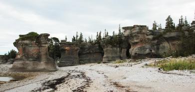 Monolithes - île Niapiskau